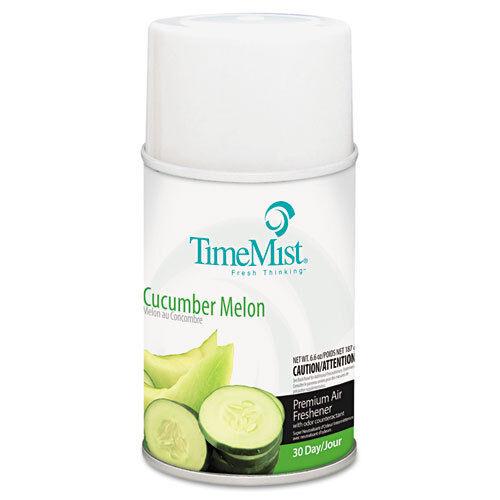 Premium Metered Air Freshener Refill, Cucumber Melon, 6.6 oz Aerosol