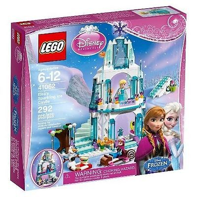 41062 ELSA'S SPARKLING ICE CASTLE lego legos set NEW disney princess FROZEN