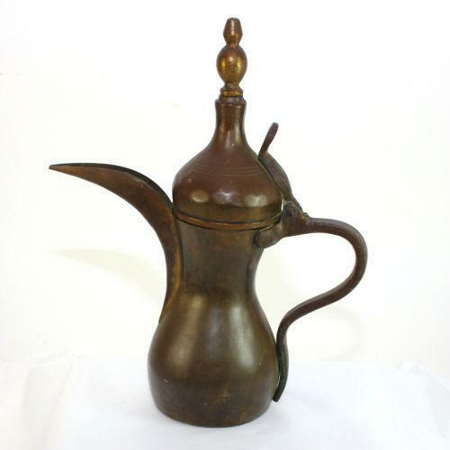 Arabian Coffee Pot And Cups