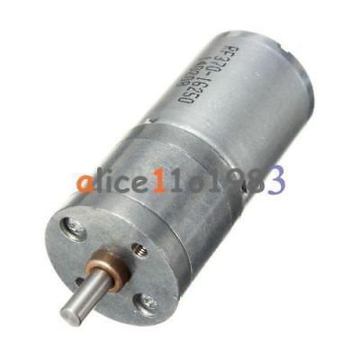 Velocidad Motor Reducción Equipo Eléctrico 12V Dc 60RPM Potente Torque 25mm L100