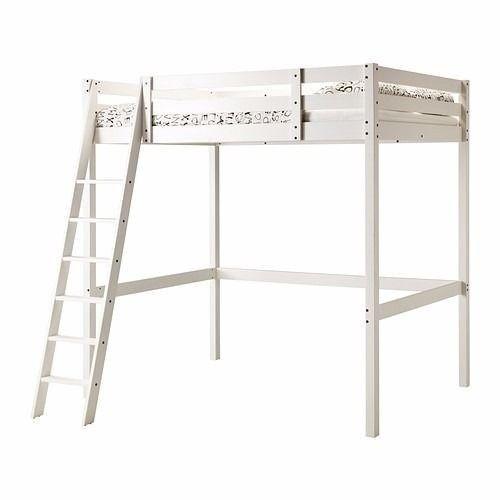 Real Wood Ikea Stora Double Loft Bed High Sleeper Cabin Bunk