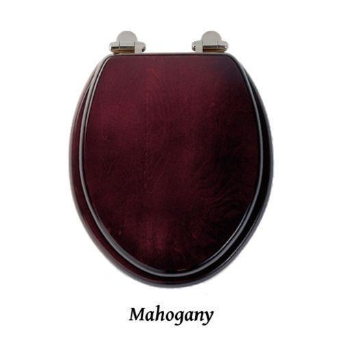 Mahogany Wooden Toilet Seat Ebay