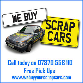 Scrap cars wanted for cash, best prices paid in Cardiff