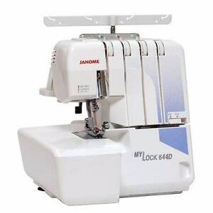 Janome MyLock 644D Overlocker Sewing Machine Pelican Waters Caloundra Area Preview