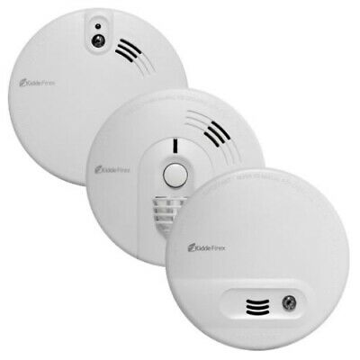 Kidde Firex Mains Powered Smoke Alarms with Alkaline Back-up Battery KF Series