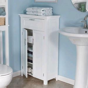2 Door storage  Cabinet by RiverRidge Home 06-038 Somerset White