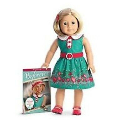 AMERICAN GIRL DOLL KIT  A BEFOREVER  DOLL AND BOOK  NEW WITH BOX