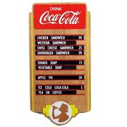 Coca Cola Menu Board