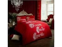 Dream Smile Sparkle Duvet Set