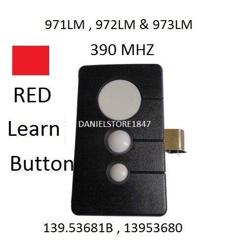 Craftsman Garage Door Opener 3 button Remote HBW1255 139.536