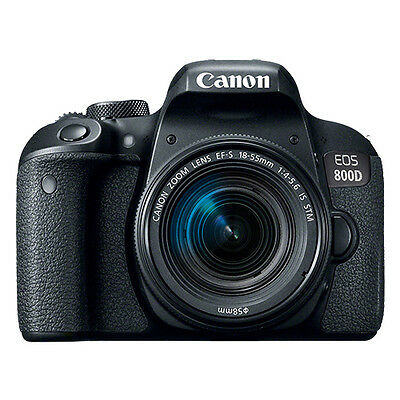 Canon EOS 800D Digital SLR Camera with 18-55mm EF-S IS STM Lens
