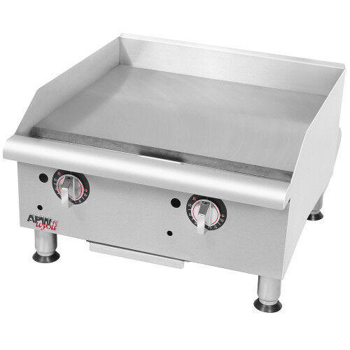 "Apw Wyott Ggt-18i 18"" Gas Countertop Champion Griddle - 37,500 Btu"