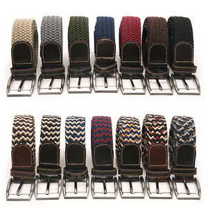 Elastic-Cotton-Stretch-Braided-Belt-17-Color-Free-P-P