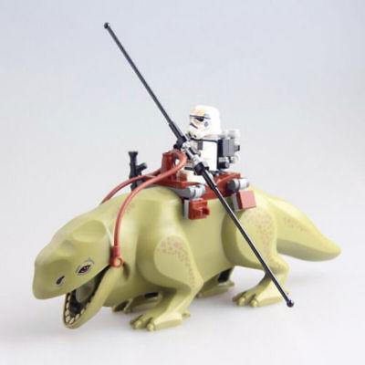 Figuren Dekoration Dewback Desert Storm Soldier Trooper Rancor Modell Training