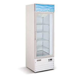 SINGLE DOOR FREEZER - CONGELATEUR AVEC 1 PORTE VITREE