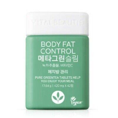 Korean Body Fat Control Meta Green Slim Cut Body Fat 420mg 42T