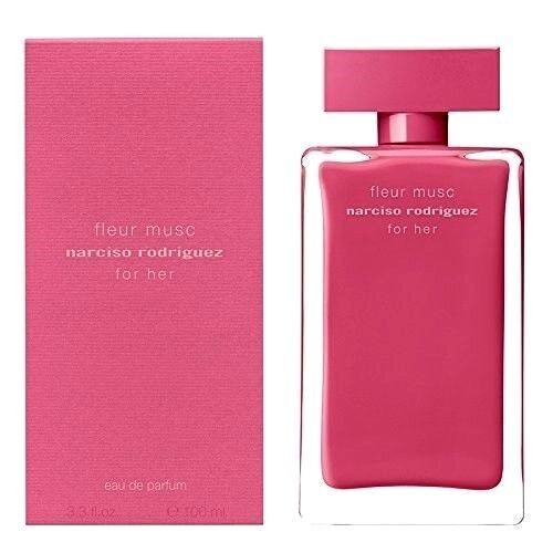 Narciso Rodriguez For Her Fleur Musc Perfume 3.3 oz EDP Spray for Women.New Box