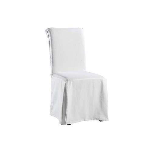 White Dining Chair Covers | eBay