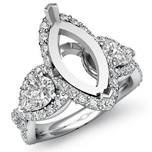 Buy Engagement Ring Setting Only Marquis