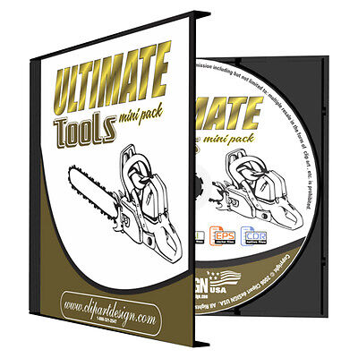 TOOLS CLIPART-VINYL CUTTER PLOTTER IMAGES-EPS VECTOR CLIP ART CD