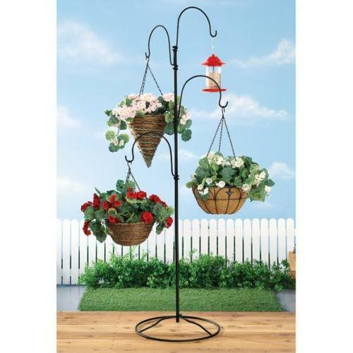 Hanging Plant Stand | eBay on Stand For Hanging Plants  id=78063