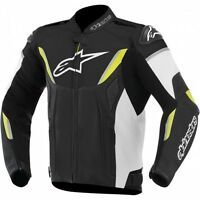 ALPINESTARS GP-R PERFORATED LEATHER JACKET YLW/JAQUETTE DE MOTO