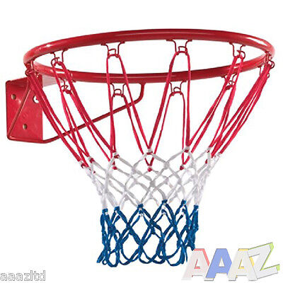 "Basketball Ring Hoop Net 18"" Wall Mounted Outdoor Hanging Basket Professional"
