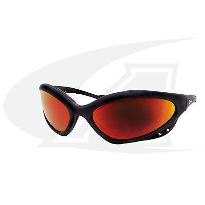 Miller Shatterproof Safety Glasses With Shade 5 Lenses - Black