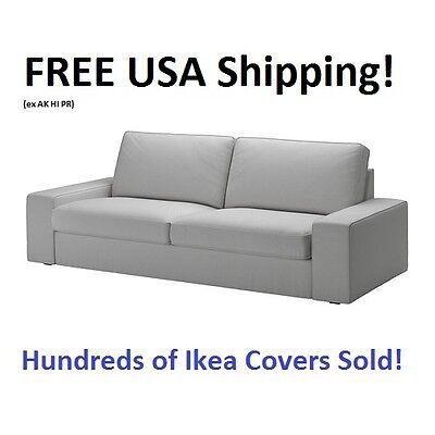 Ikea Kivik Sofa  89 3 4   Cover Slipcover Orrsta Light Gray New  Sealed