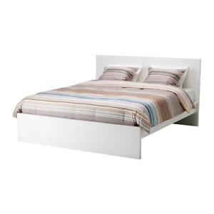 White IKEA Bedframe