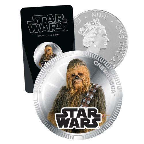 New Zealand Star Wars Coins Ebay