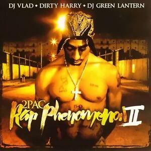 2pac - Rap Phenomenon Mixtape CD Tupac Shakur Makaveli Outlawz Death Row