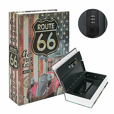 Book Safe Box Lock , Water Fire Proof Home Money Cash  Sentry Key PROTECTION