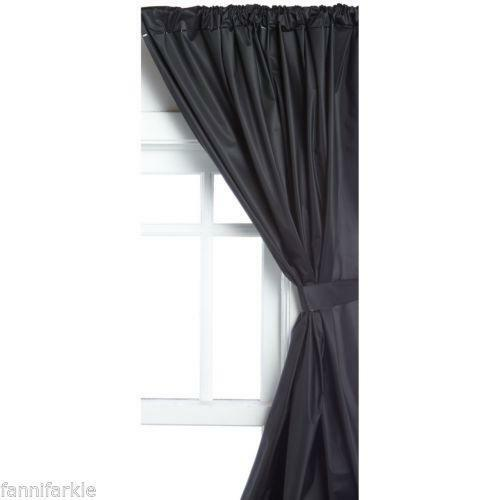 Vinyl Window Curtain Ebay