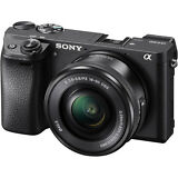 Sony Alpha a6300 Mirrorless Digital Camera w/16-50mm Lens