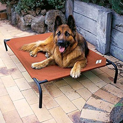 Coolaroo Elevated Pet Bed - Extra Large Dog Bed Elevated Outdoor Raised Pet Cot Indoor Durable Steel Frame