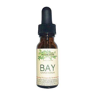 Bay Essential Oil  Therapeutic Grade 100  Pure  15Ml Amber Glass Dropper Bott
