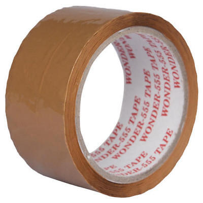 Brown Color Box Packing Tape Roll 4.4cm Wide Best Quality (1 Roll) For Office