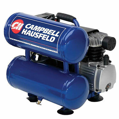 about Campbell Hausfeld 1-HP 4-Gallon Twin Stack Air Compressor