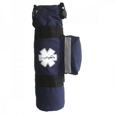 Line2design Oxygen Bag - Ems Medical Cylinder Sleeve O2 Supplies Bag - Navy Blue