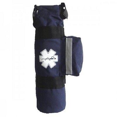 Line2design Oxygen Bag - Ems Medical Cylinder Sleeve O2 Supplies Bag - Navy Blue