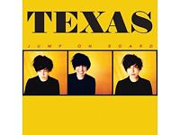Two paper tickets for Texas @ The New Oxford Theatre