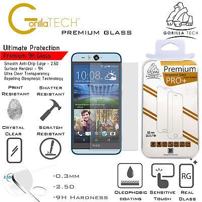 2 Pack HTC 10 Lifestyle Genuino Gorilla Templado Cristal Protector de Pantalla