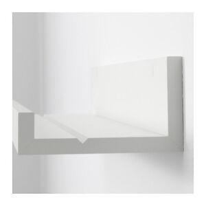Ikea mosslanda mensola per quadri bianco 55 cm ebay - Soporte cuadros ikea ...