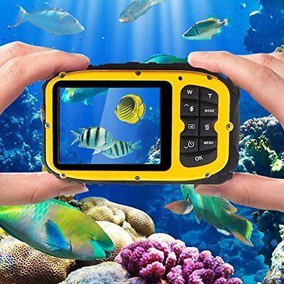 Underwater Digital Video Waterproof Camera 2.7 inches LCD 16MP Video Camcorder. Underwater Digital Video Camera