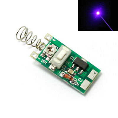 3-5v Power Supply Driver For 5-100mw 405nm Violetblue Laser Diode Module