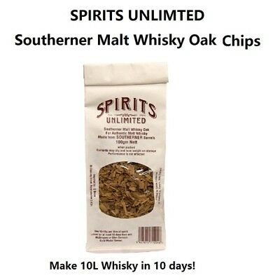 Spirits Unlimited Southerner Malt Whiskey Chips 100g (Whiskey Chips)