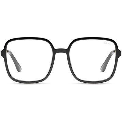 NEW QUAY AUSTRALIA X JLO 9 to 5 Blue Light Glasses in Black - (Glasses Sale Australia)