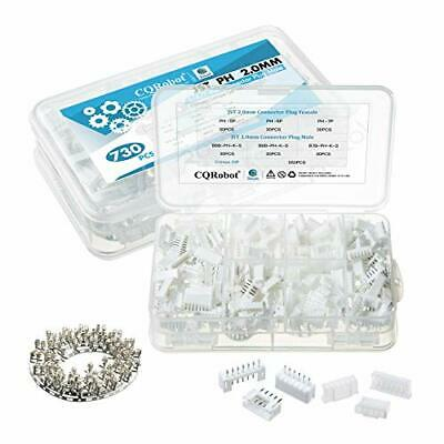 730 Pieces 2.0mm Jst-ph Jst Connector Kit. 2.0mm Pitch Female Pin Header Jst Ph
