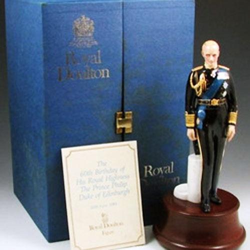 PRINCE PHILIP DUKE OF EDINBURGH HN 2386 Royal Doulton NEW IN BOX Made England